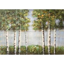 Concept Art Cooperation 3D Decoration Hand Painted Tree Wall Art, 90 x 120cm, Multicolor