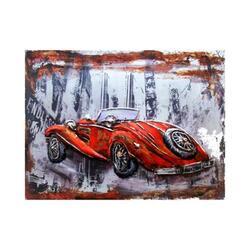 Concept Art Cooperation 3D Decoration Hand Painted Car Wall Art, 90 x 120cm, Multicolor
