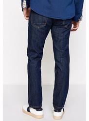 Springfield Denim Jeans for Men, 26 EU, Navy Blue