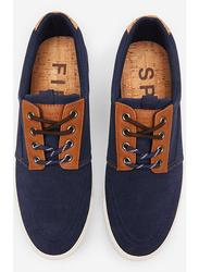 Springfield Lace-Up Closure Sneakers, 43 EU, Medium Blue