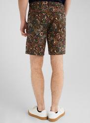 Springfield Paisley Pattern Bermuda Shorts for Men, 44 EU, Multicolor