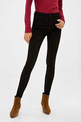 Springfield Body Trousers for Women, 36 EU, Black