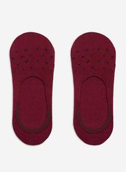Springfield No Show Socks for Women, Red, 39 EU
