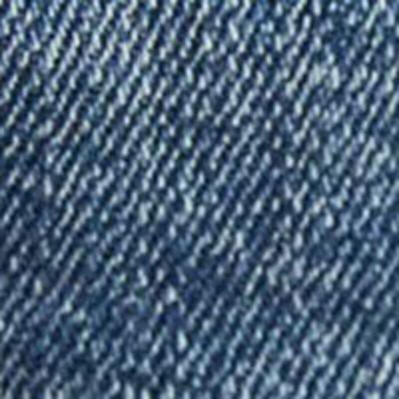 Springfield Slim Fit Medium Wash Ripped Denim Jeans for Men, 36 EU, Medium Blue