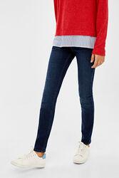 Springfield Indigo Denim Jeans for Women, 34 EU, Medium Blue