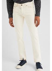 Springfield Denim Jeans for Men, 38 EU, Ivory