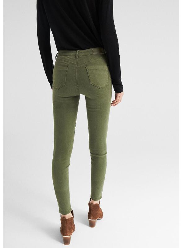 Springfield Fancy Denim Jeans for Women, 36 EU, Green