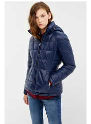 Springfield Long Sleeve Sport Jacket for Women, Small, Light Blue
