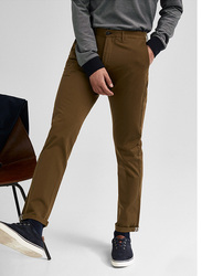 Springfield Sport Trousers Chinos for Men, 46 EU, Brown