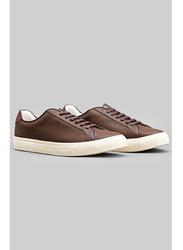 Springfield Lace-Up Sneakers, 42 EU, Dark Brown