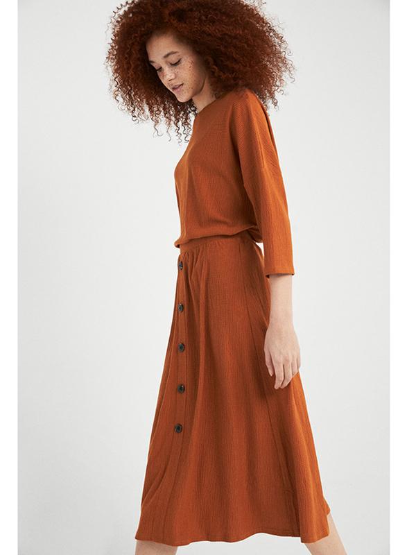 Springfield Midi Skirt for Women,  Medium, Sand