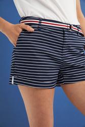 Springfield Fancy Bermuda Shorts for Women, 36 EU, Light Blue