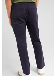 Springfield Sport Trousers Chinos for Men, Large, Light Blue