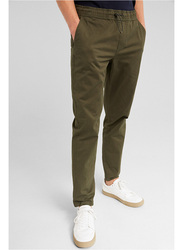 Springfield Sport Trousers Chinos for Men, Large, Green