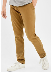 Springfield Sport Trousers Chinos for Men, 50 EU, Brown
