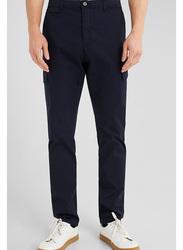 Springfield Sport Trousers Cargo for Men, 42 EU, Dark Blue