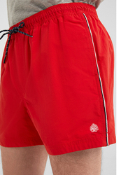 Springfield Swim Short for Men, Extra Large, Red
