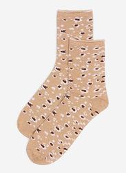 Springfield Low Cut Socks for Women, Khaki, 39 EU