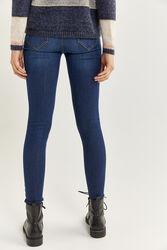 Springfield Body Trousers for Women, 42 EU, Medium Blue