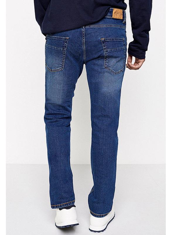 Springfield Denim Jeans for Men, 26 EU, Medium Blue