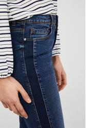 Springfield Fancy Denim Jeans for Women, 36 EU, Medium Blue