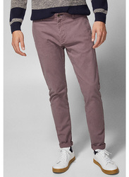 Springfield Sport Trousers Chinos for Men, 44 EU, Pink