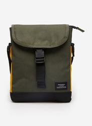 Springfield Shoulder Bag for Men, Green/Orange