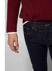 Springfield Denim Jeans for Men, 38 EU, Navy Blue