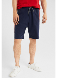 Springfield Sports Shorts for Men, Small, Navy Blue