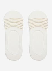 Springfield No Show Socks for Women, White, 39 EU