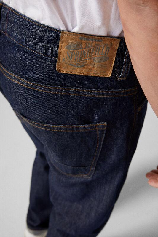 Springfield Denim Jeans for Men, 32 EU, Navy Blue