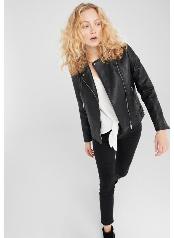 Springfield Fancy Denim Jeans for Women, 36 EU, Black