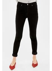 Springfield Denim Basic Jeans for Women, 40 EU, Black