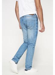 Springfield Denim Jeans for Men, 32 EU, Dark Blue