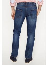 Springfield Denim Jeans for Men, 30 EU, Light Blue