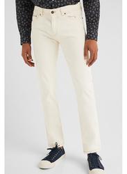 Springfield Denim Jeans for Men, 40 EU, Ivory