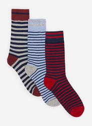 Springfield Mid Crew Fancy Socks for Men, Multicolor, X-Small