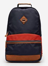 Springfield Two Side Backpack Bag for Men, Medium Blue/Red