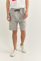 Springfield Towelling Bermuda Shorts for Men, Double Extra Large, Light Grey