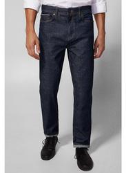 Springfield Denim Jeans for Men, 28 EU, Navy Blue