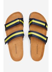 Springfield Double Velcro Closures Sandals, 45 EU, Medium Blue