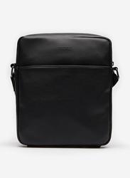 Springfield Zipper Closure Crossbody Bag for Men, Black