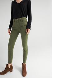 Springfield Fancy Denim Jeans for Women, 42 EU, Green