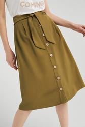 Springfield Midi Skirt for Women,  Medium, Green