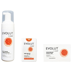 Evolut - Family Kit (Foam, Soap, 3 Sanitizers)