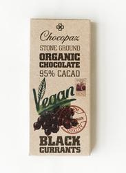 Chocopaz Organic Vegan Chocolate with Black Currant, 47 grams