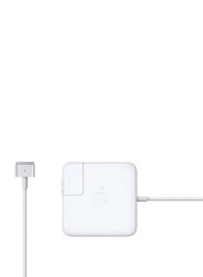 Apple Magsafe 2 45W Power Adapter for MacBook Air, White