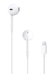 Apple EarPods Lightning Cable In-Ear Headphones with Mic, White