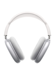 Apple AirPods Max Wireless Over-Ear Noise Cancelling Headphones with Mic, Silver