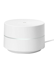 Google Wi-Fi System Smart Speakers, White